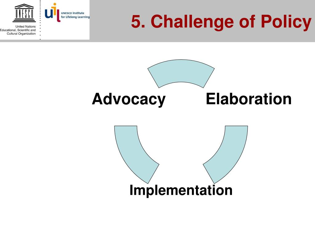 5. Challenge of Policy