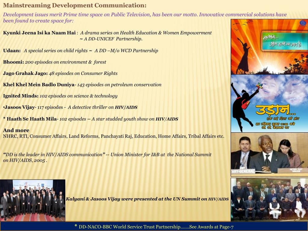Mainstreaming Development Communication: