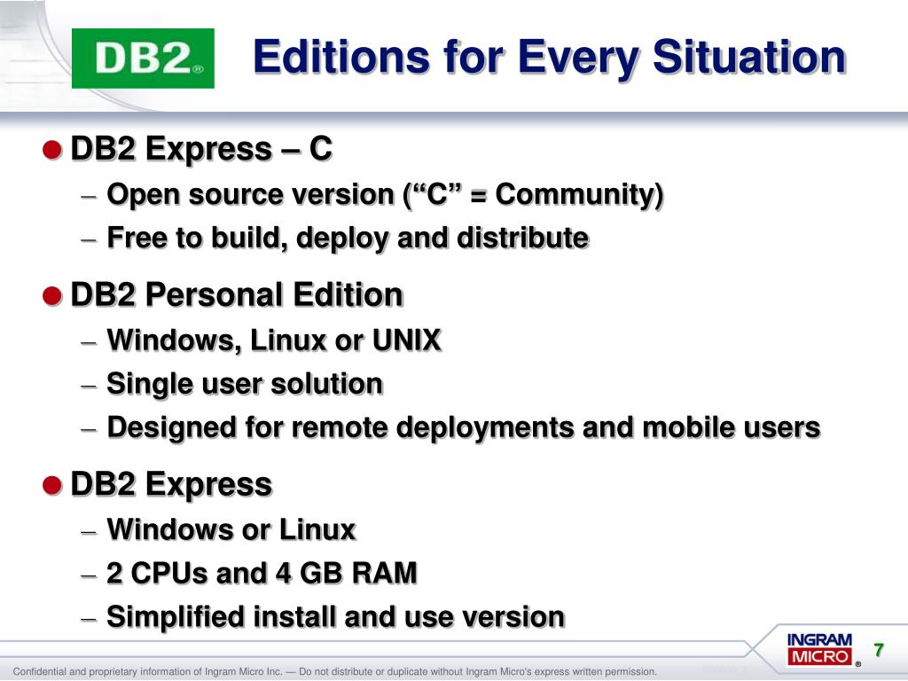 PPT - IBM DB2 Discovering the Possibilities PowerPoint