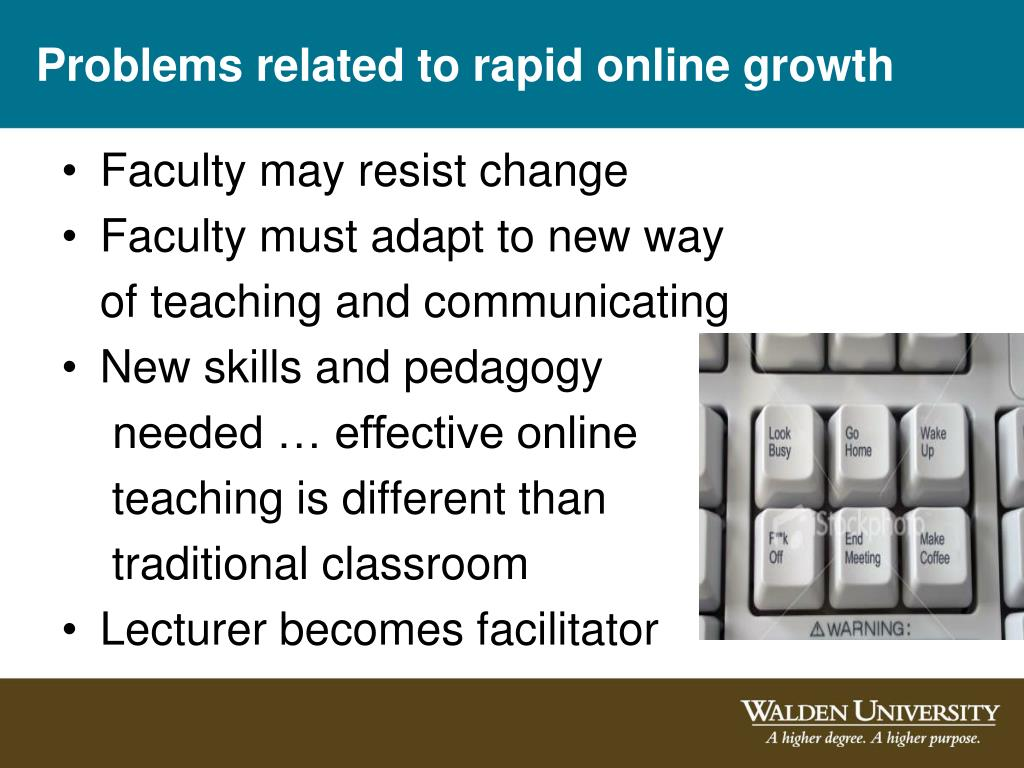 Problems related to rapid online growth
