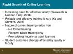 rapid growth of online learning4