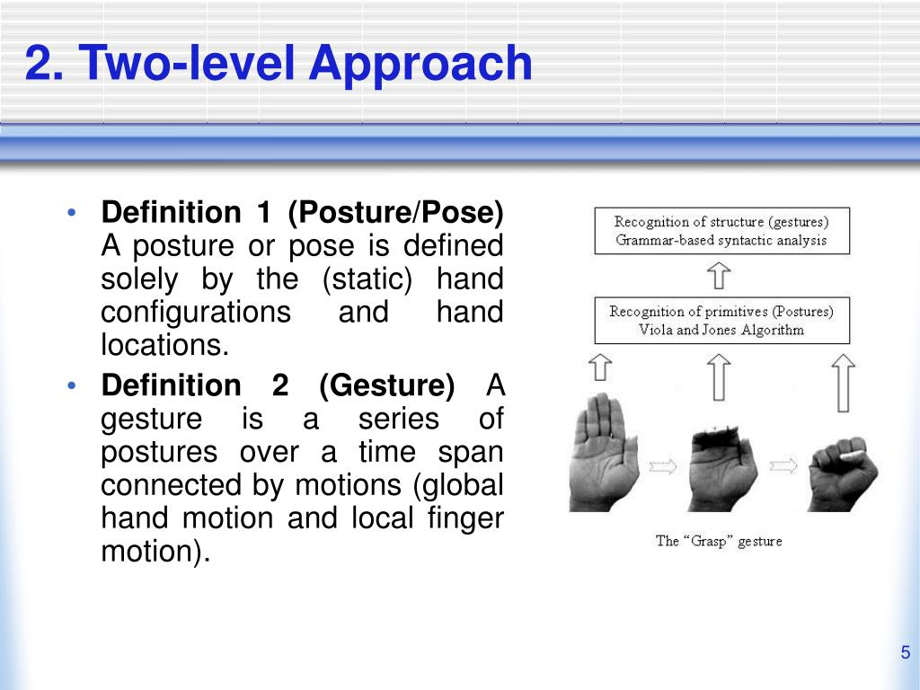 2. Two-level Approach