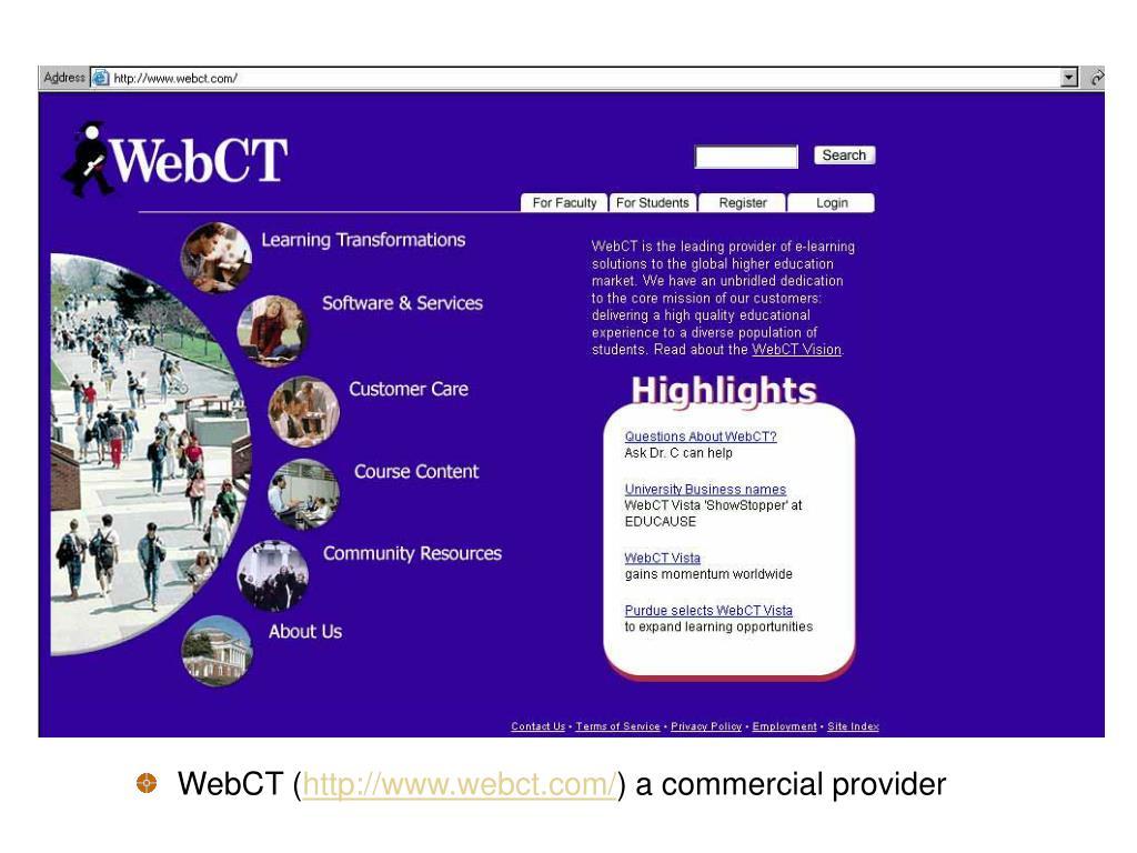 WebCT (