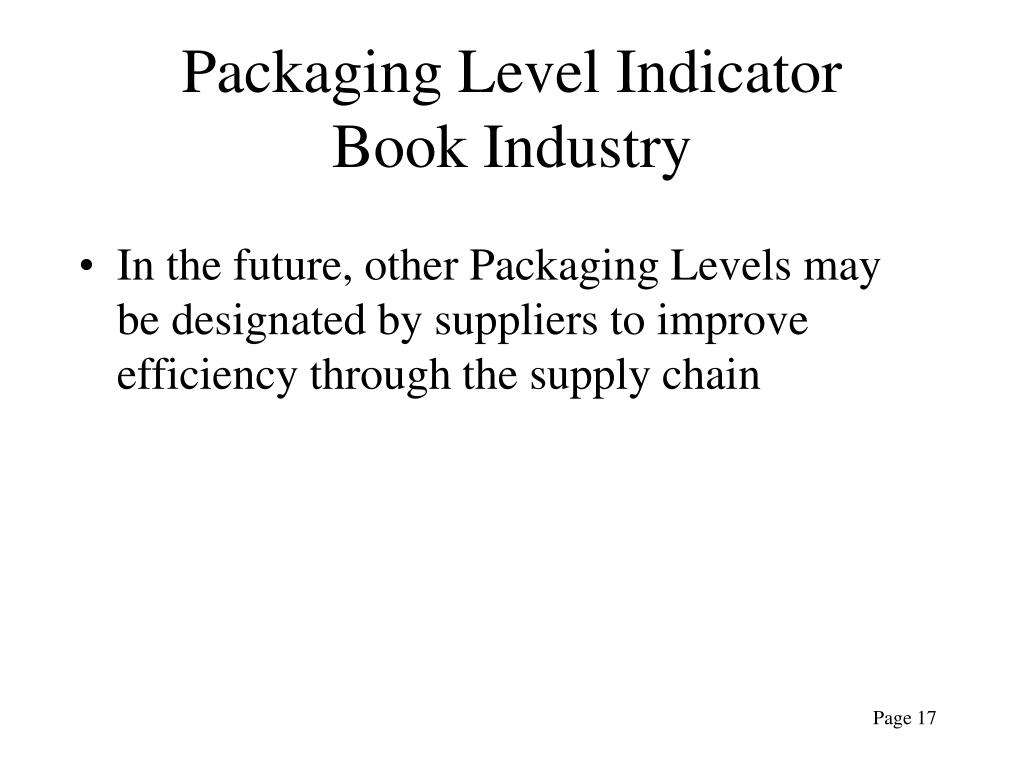 Packaging Level Indicator