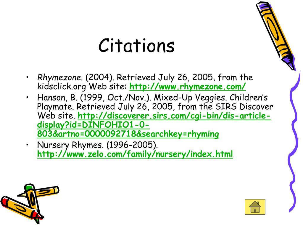 Citations