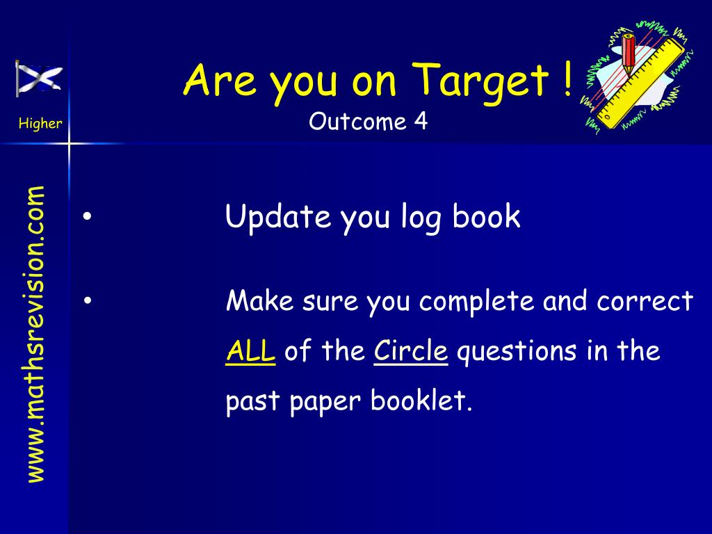 Are you on Target !