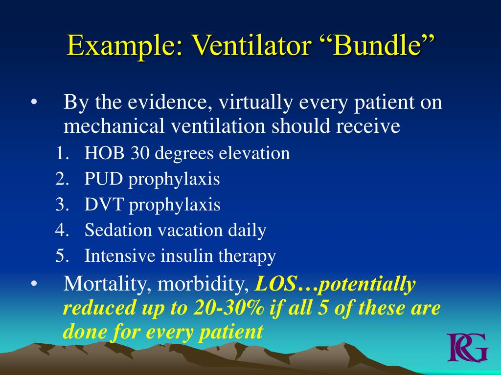 "Example: Ventilator ""Bundle"""