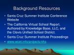 background resources