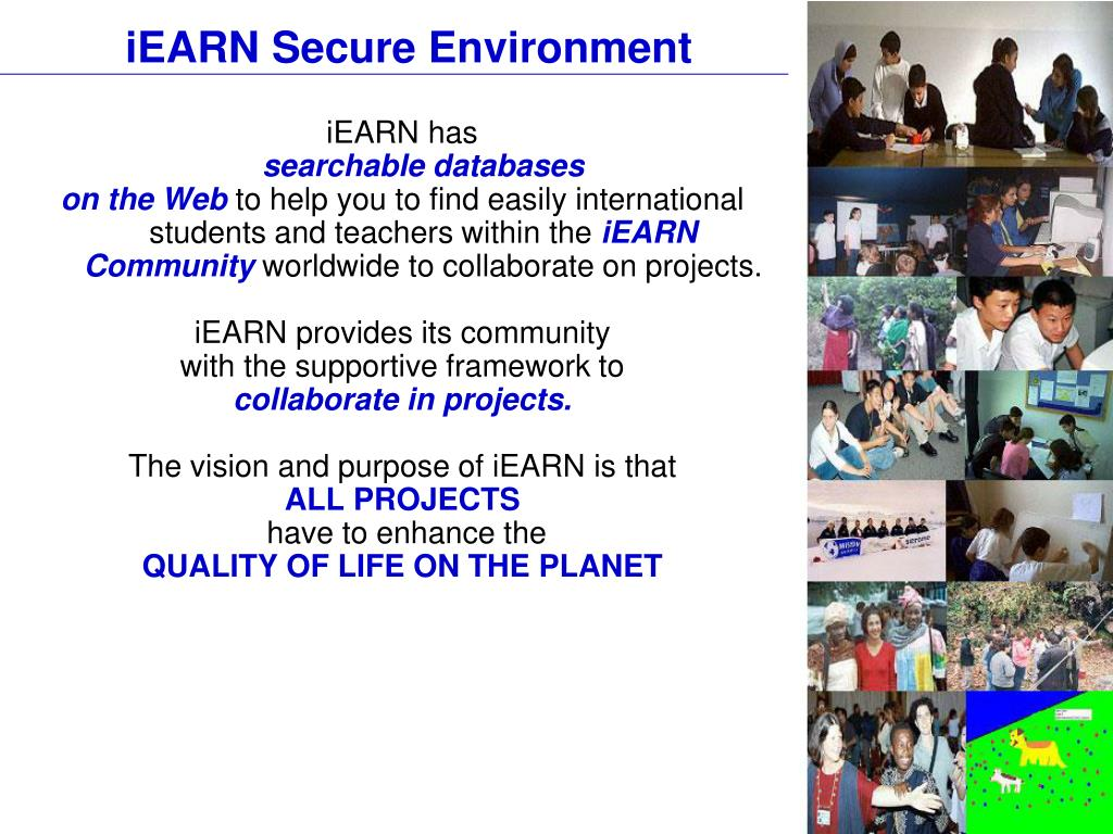 iEARN Secure Environment