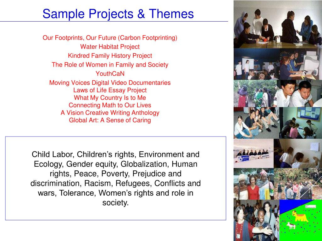 Sample Projects & Themes