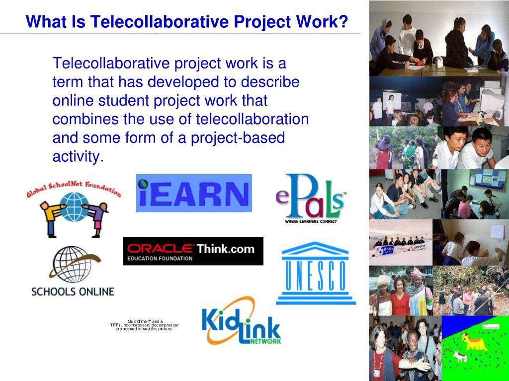 What Is Telecollaborative Project Work?