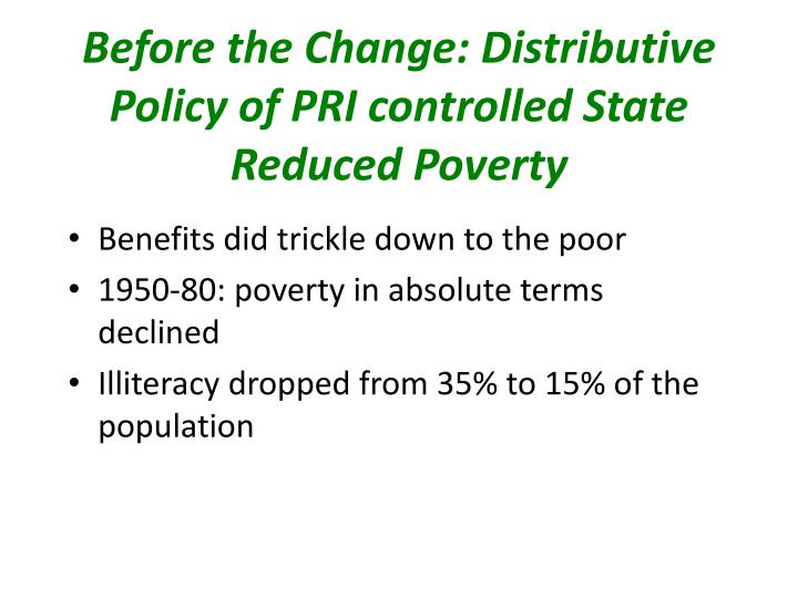 distributive policy What are the types of public policy in distributive policy, the government stipulates the mode and method sharing the national or the common wealth.