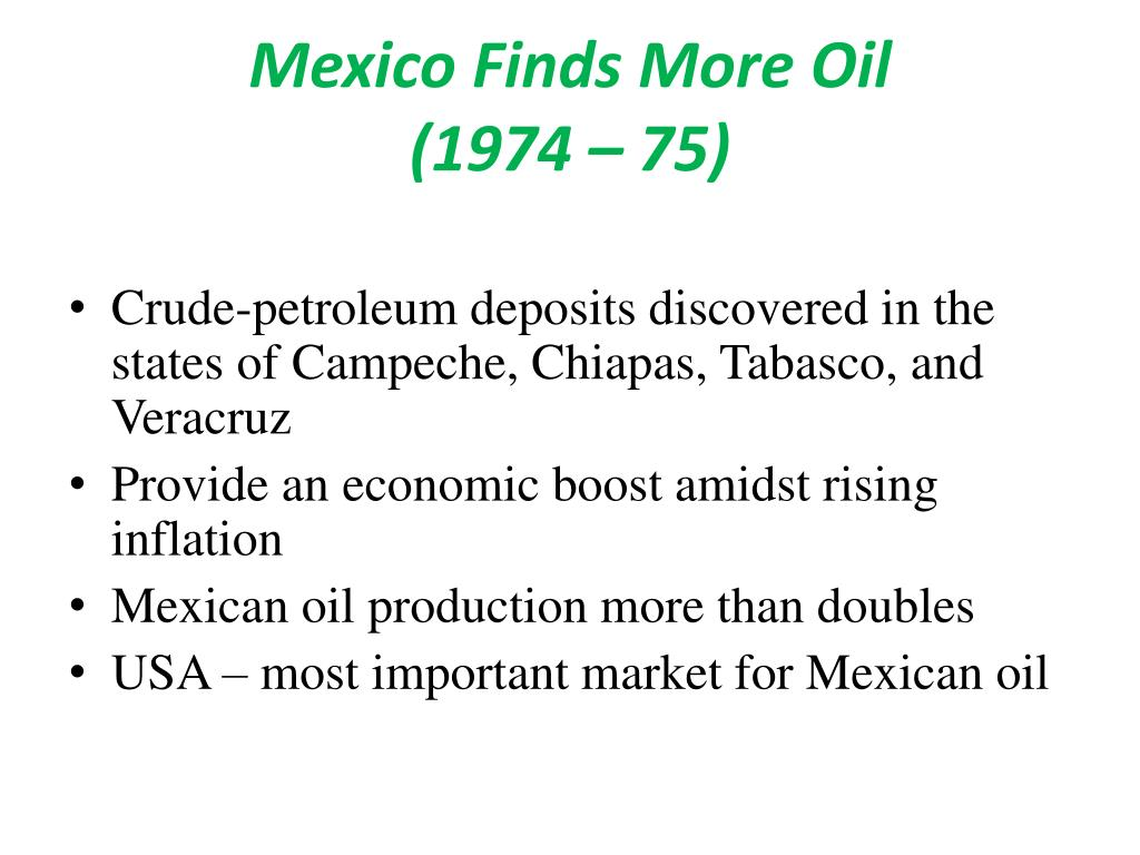 Mexico Finds More Oil