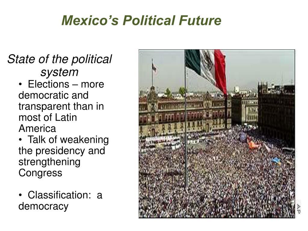 Mexico's Political Future