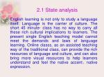 2 1 state analysis13