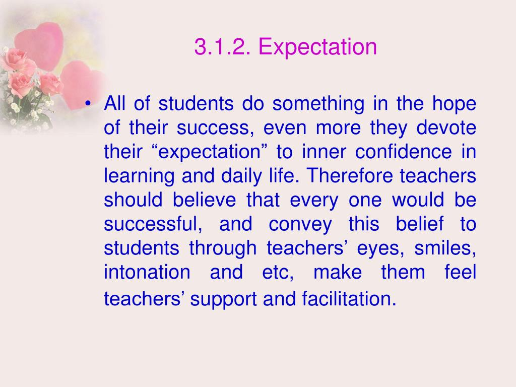 3.1.2. Expectation