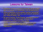 lessons for taiwan43