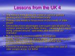 lessons from the uk 4