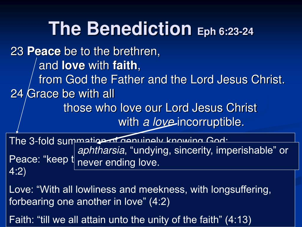 The 3-fold summation of genuinely knowing God: