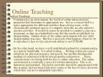 online teaching24