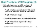 high priority for ltbi treatment 2