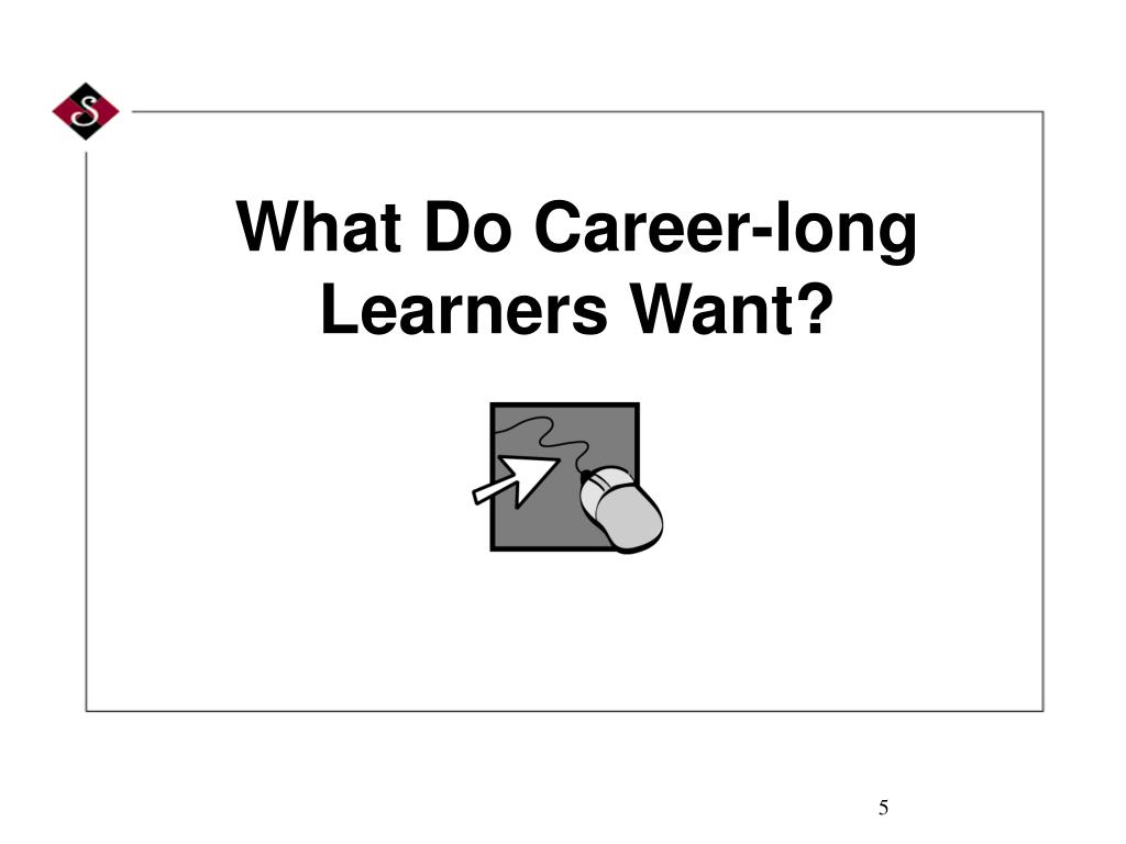 What Do Career-long Learners Want?