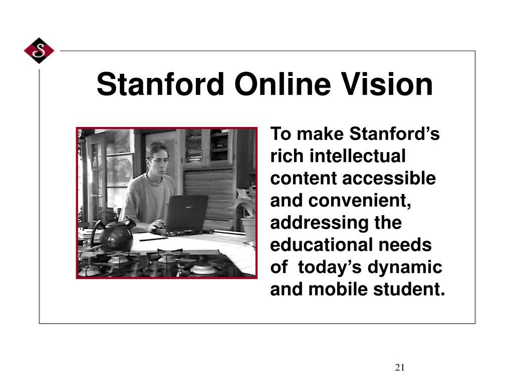 Stanford Online Vision