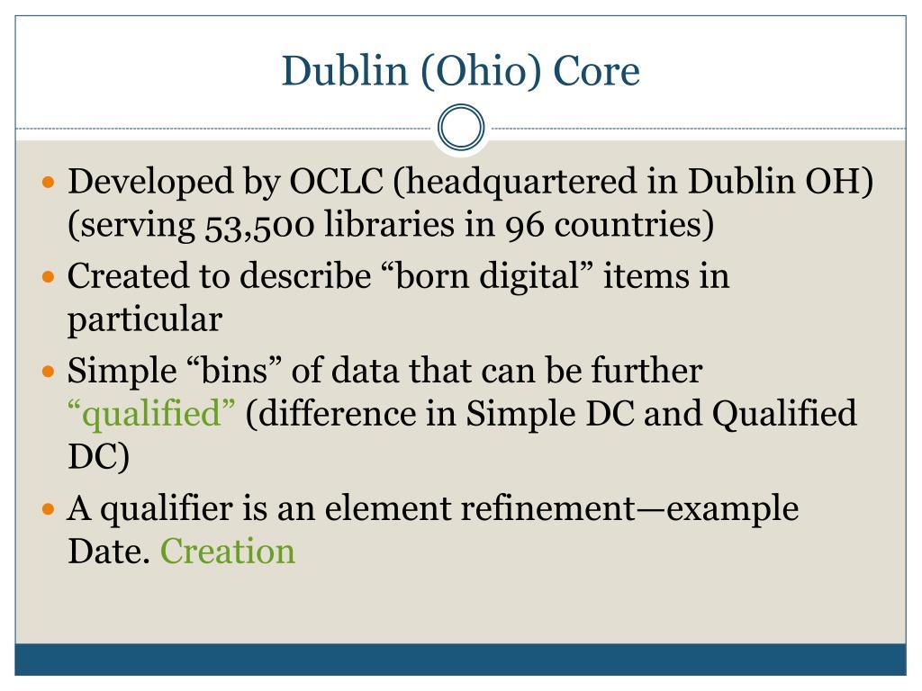 Dublin (Ohio) Core