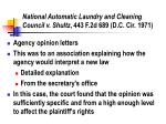 national automatic laundry and cleaning council v shultz 443 f 2d 689 d c cir 1971