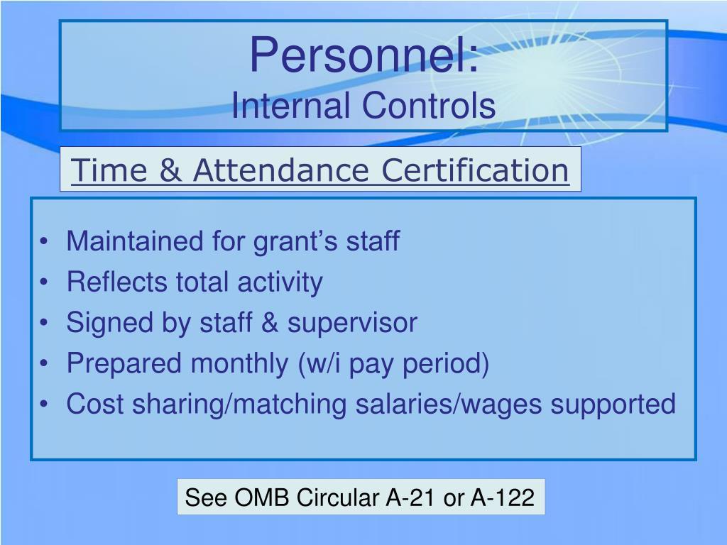 Personnel: