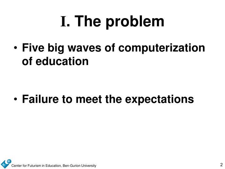 I the problem
