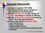 alexander maconochie