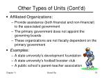 other types of units cont d14