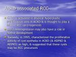 ackd associated rcc18