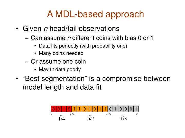 A MDL-based approach