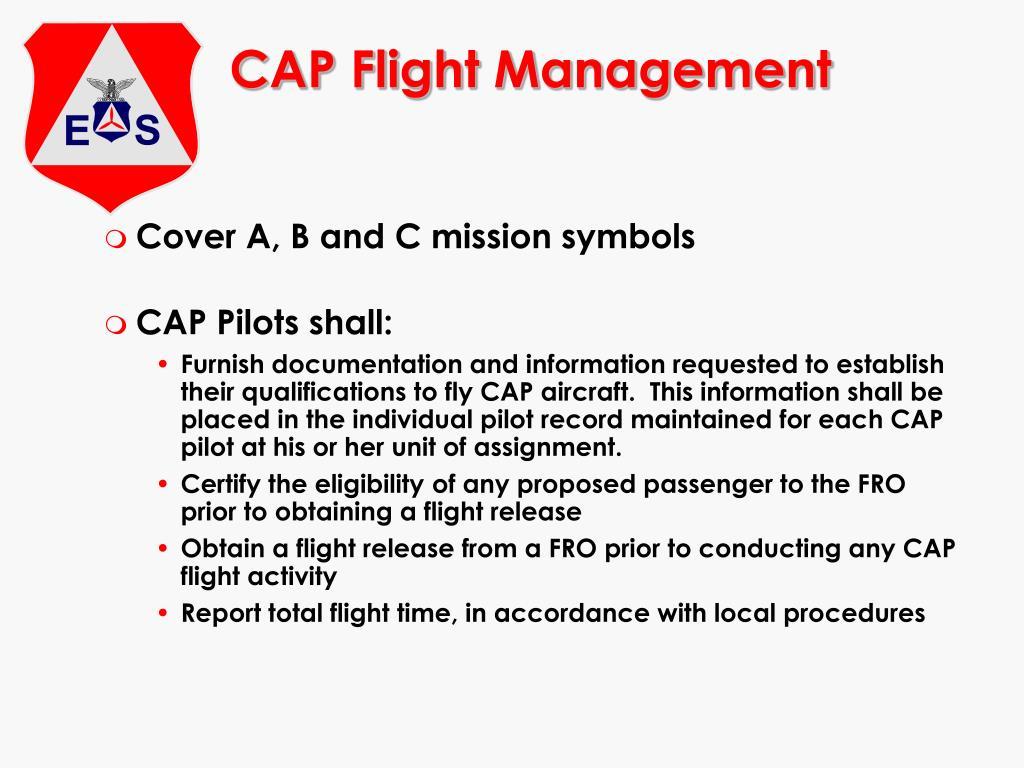 CAP Flight Management
