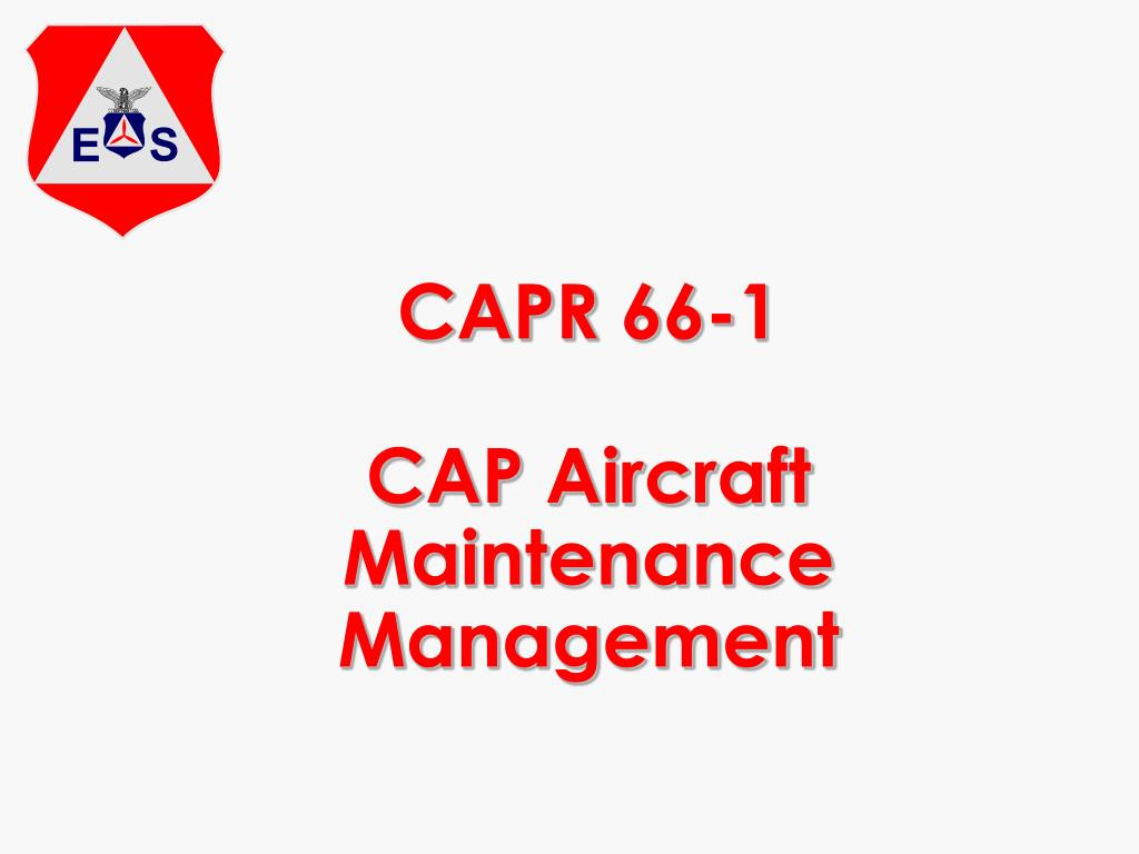 CAPR 66-1