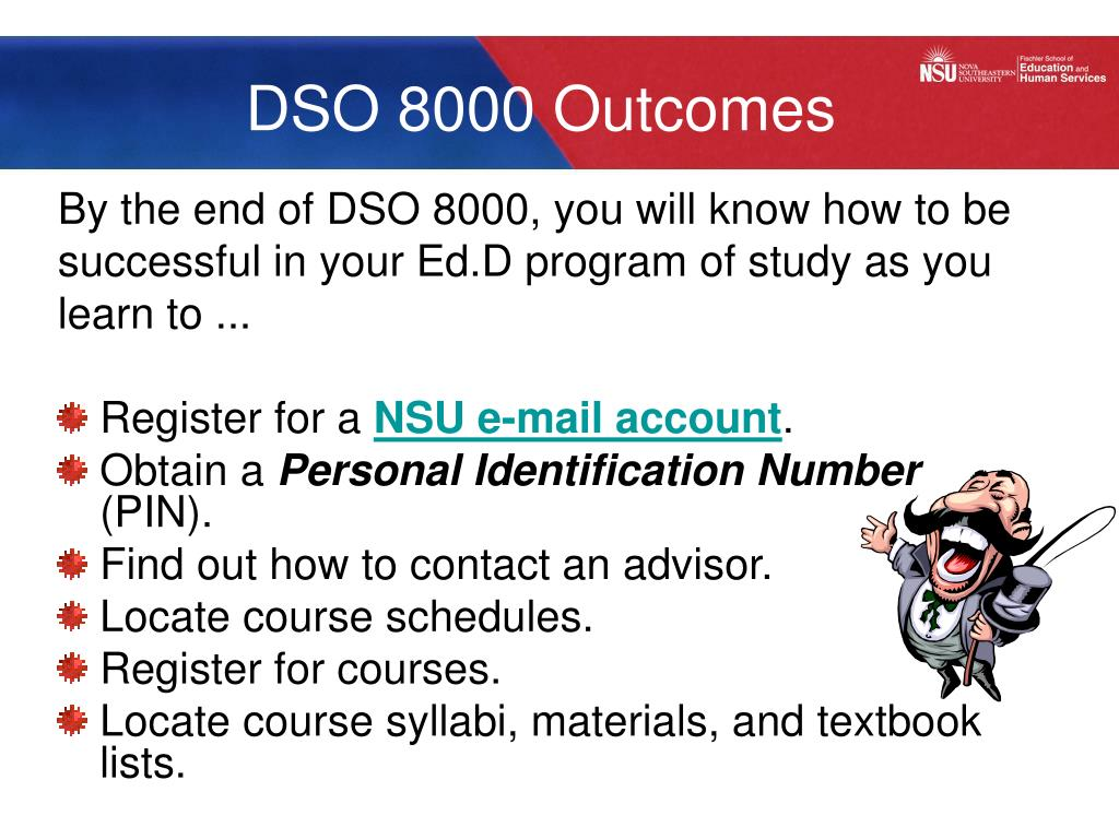 DSO 8000 Outcomes