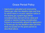 grace period policy77