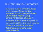 hud policy priorities sustainability12