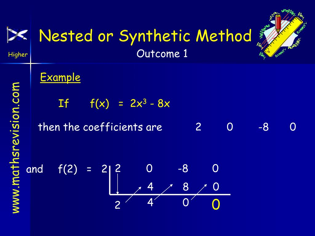 Nested or Synthetic Method