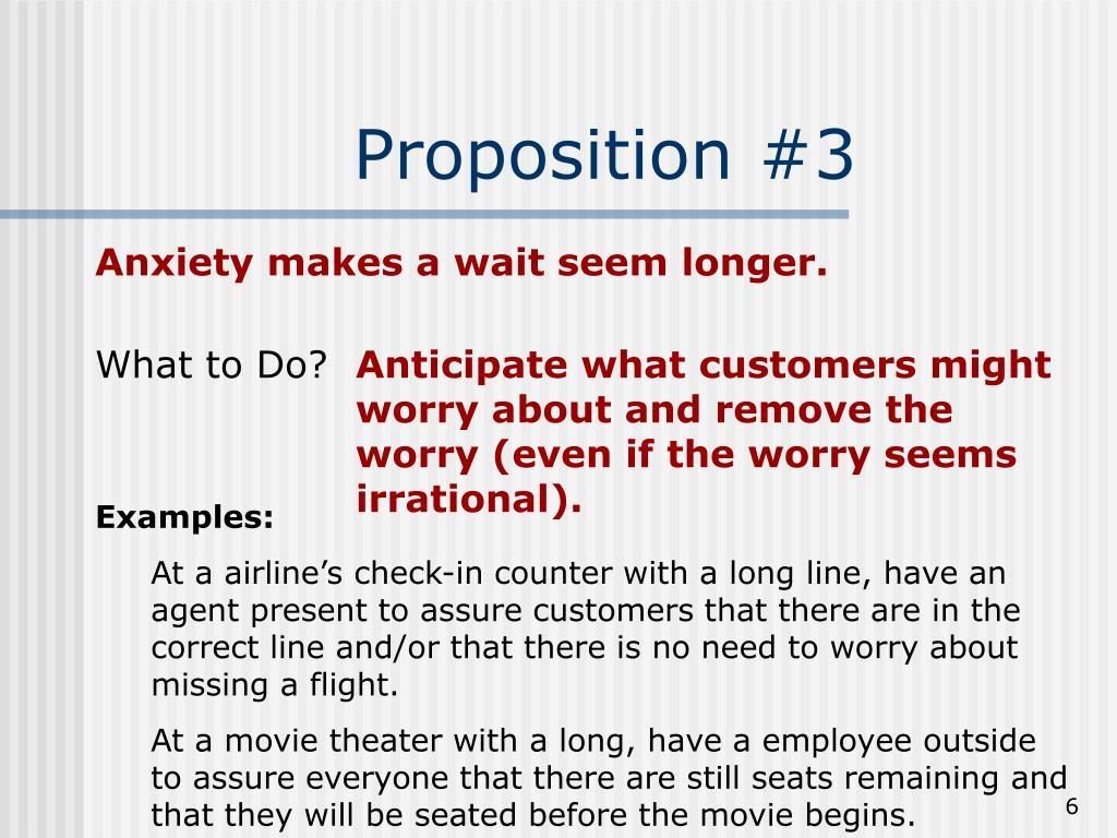 Proposition #3