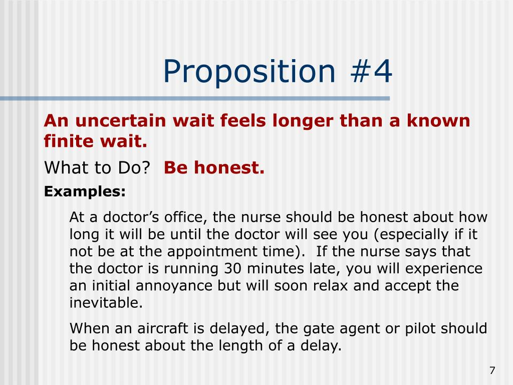 Proposition #4