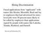 hiring discrimination23
