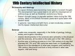 19th century intellectual history