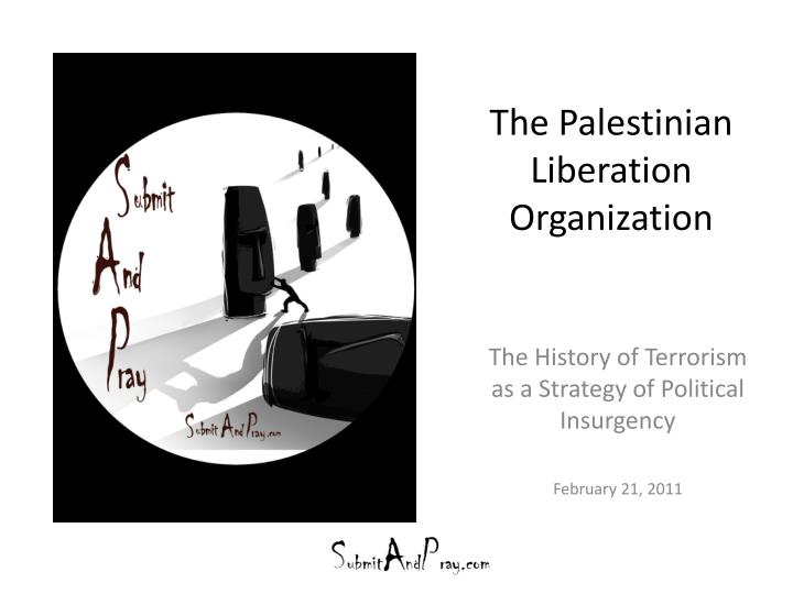 the palestinian liberation organization n.