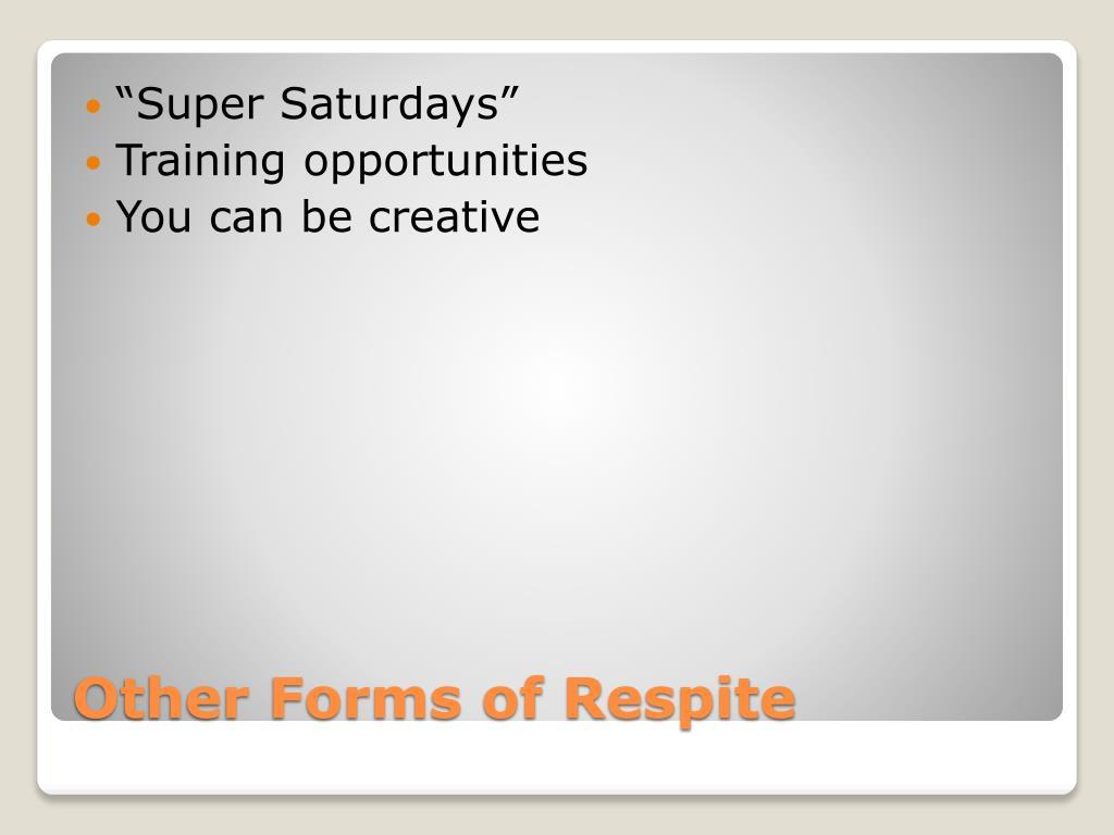 """""""Super Saturdays"""""""