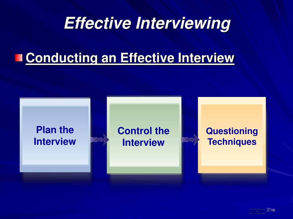 Plan the Interview
