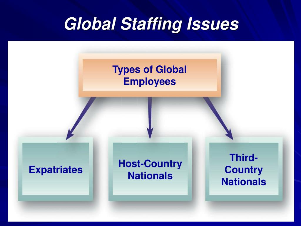 Types of Global Employees