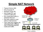 simple nat network